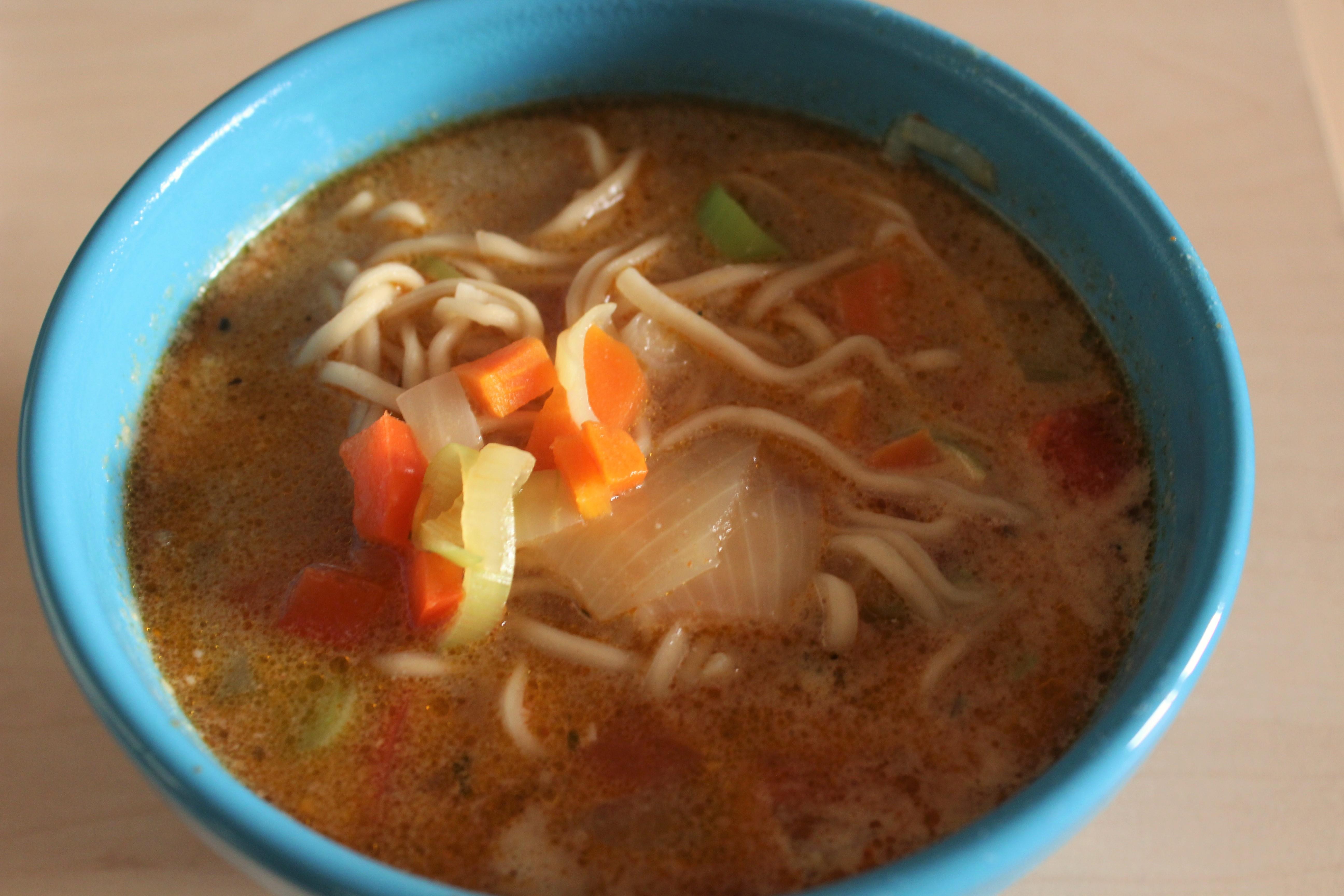 Thaisuppe med porre og løg - Let at lave