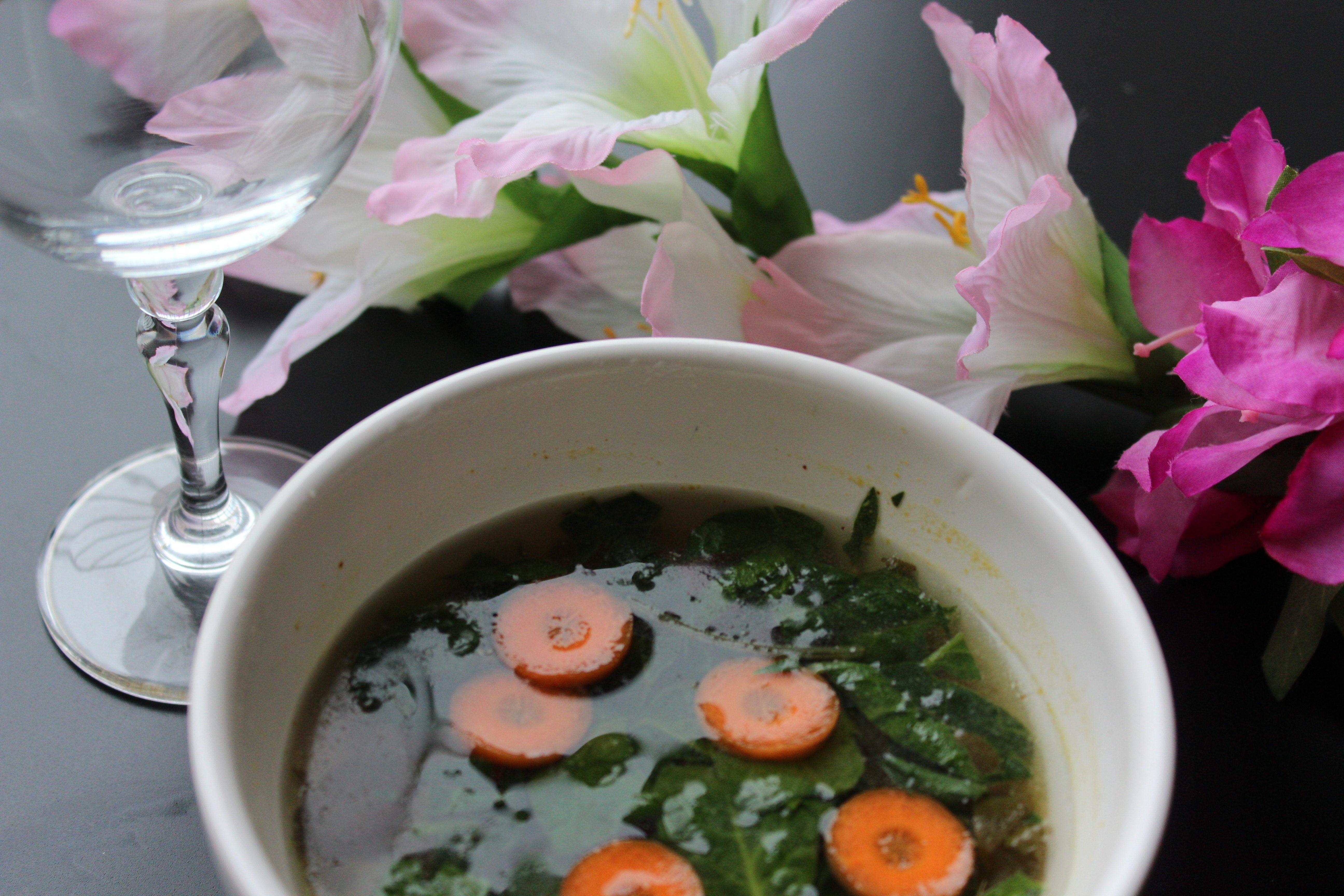 thai grøntsagssuppe