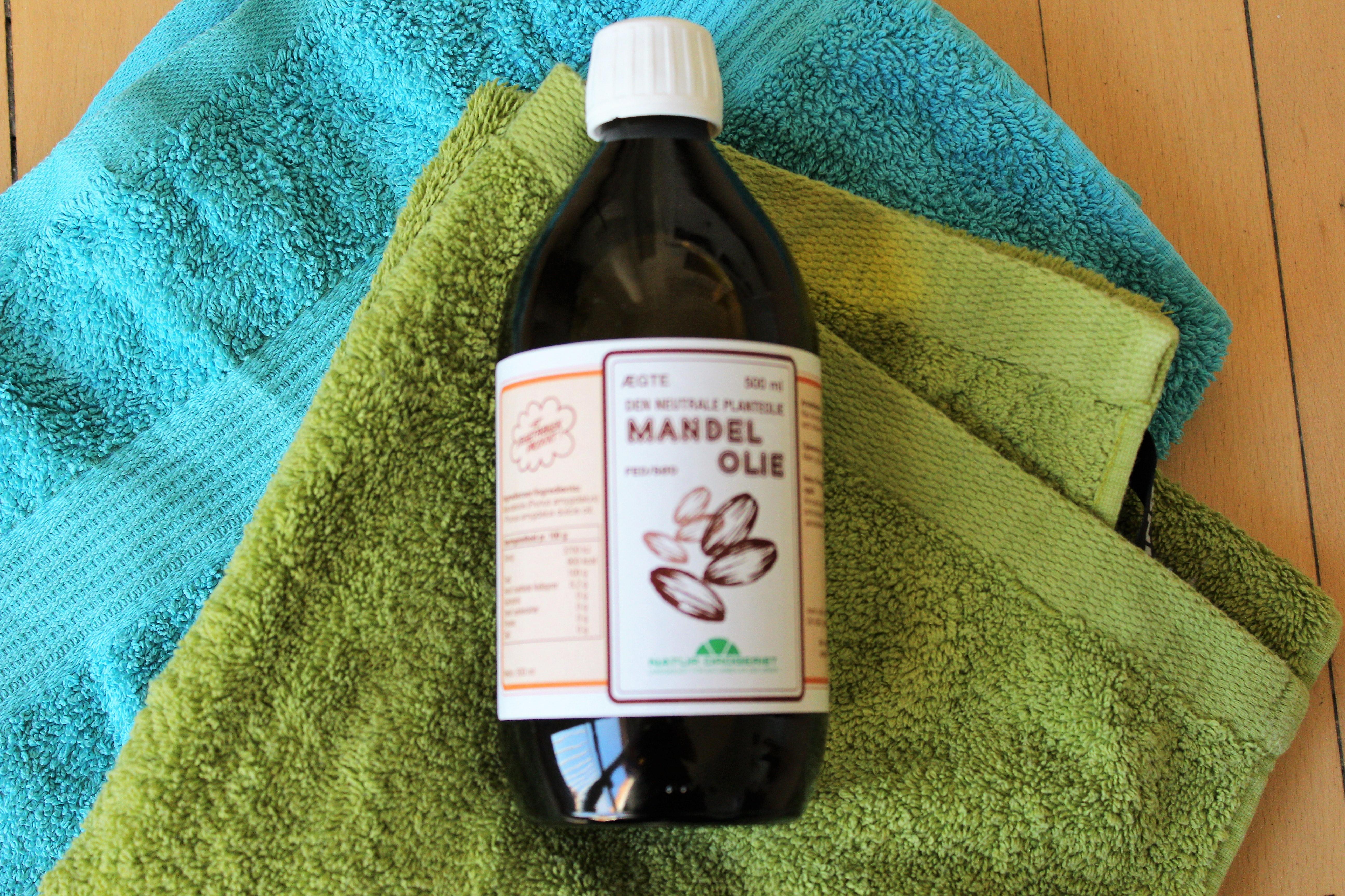Mandelolie - godt for huden
