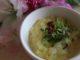 Kartoffelsuppe med timian og bacon