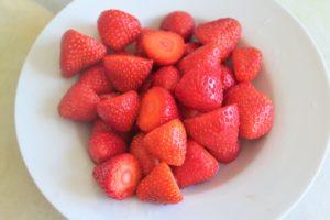 jordbærkage