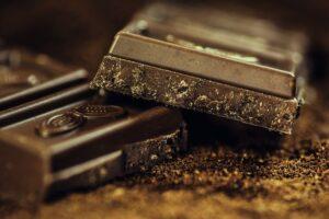 mørk chokolate