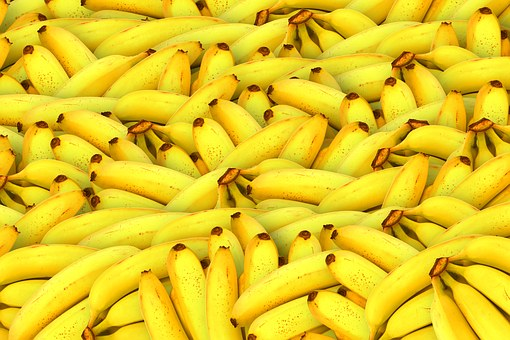 Bananer er gode for maven