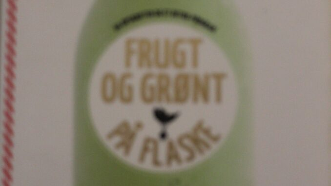 Grønt og frugt på flaske af Fern Green