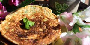 Pandekager med Basilikum